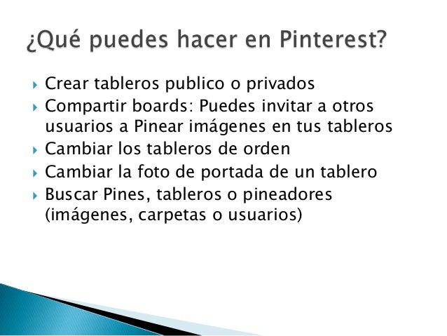    Pinterest pone a disposición de todo el que lo    quiera un código HTML que añadido a la    programación del site desh...