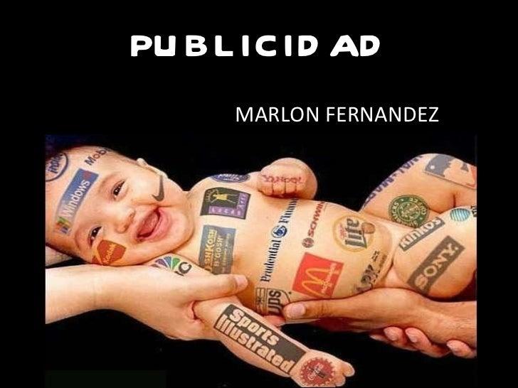 PUBLICIDAD MARLON FERNANDEZ