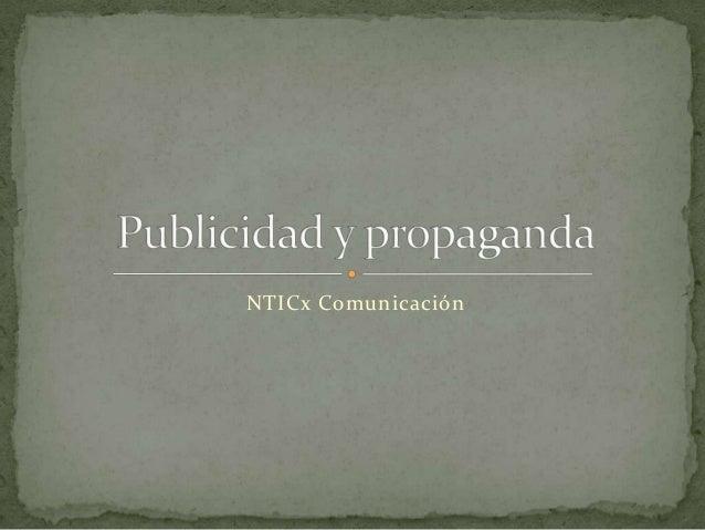 NTICx Comunicación