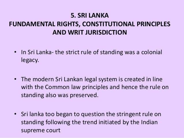 Parliament of Sri Lanka - Constitution