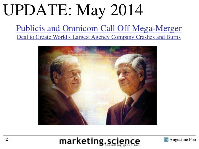 Publicis Omnicom Merger is Bad for Clients and Shareholders Omnicom Shares
