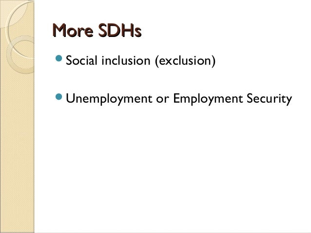 Unemployment and ill health correlation health and social care essay