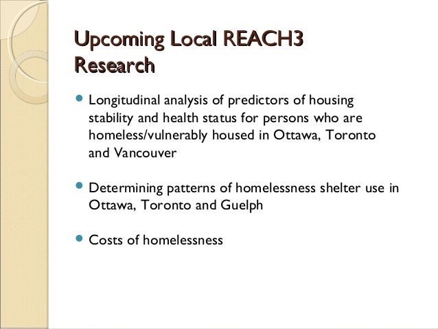 What are the psychological causes and effects of homelessness?