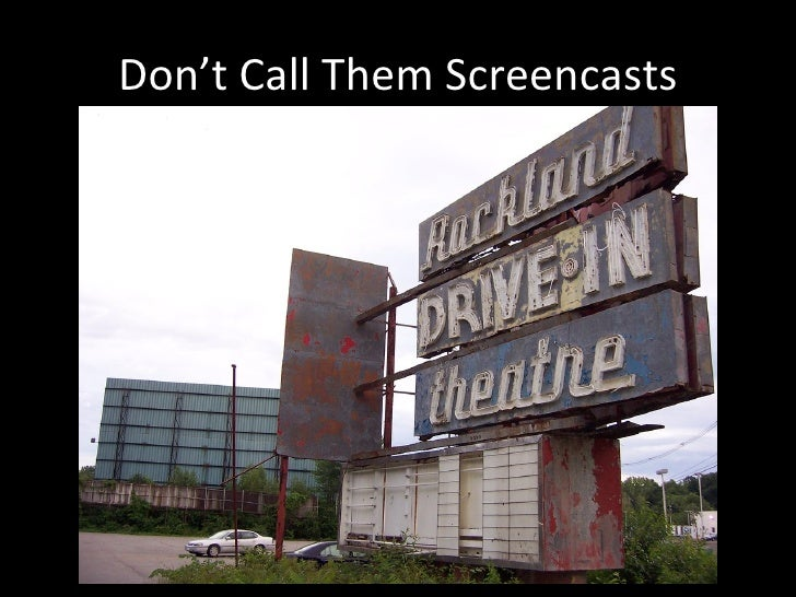 Public Library Screencasts Slide 2