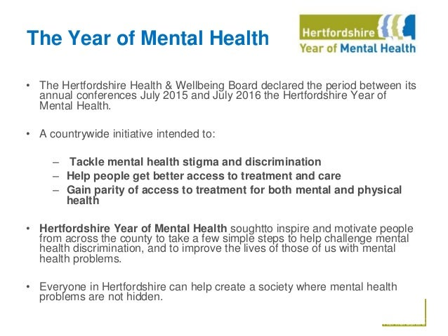Public Mental Health Examples Of Local Leadership