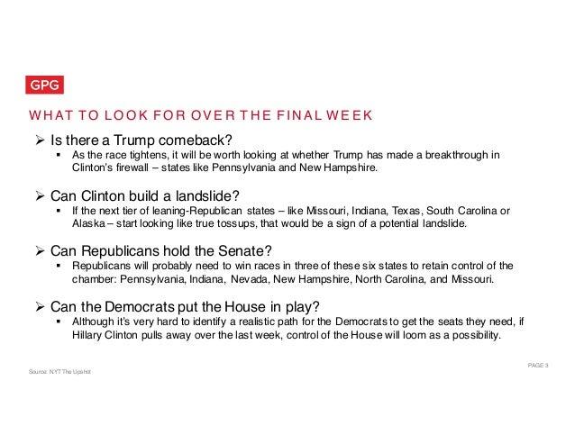 The Public Opinion Landscape: Election 2016 Slide 3