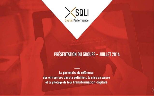 Le partenaire de référence des entreprises dans la définition, la mise en œuvre et le pilotage de leur transformation digi...