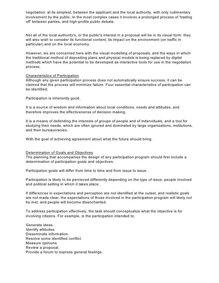 Community Development Planner, Cover Letter