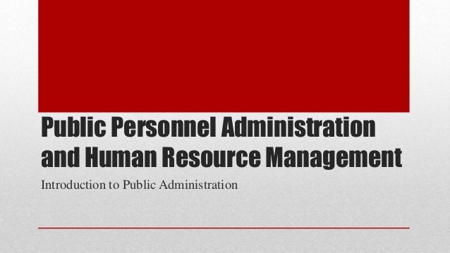 Public Administration/Public Affairs