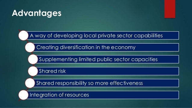 pulic private partnership its relationship to A public private partnership (ppp) is a long-term contractual partner relationship between the public and the private sector it may include financing, design, construction, operation and/or.