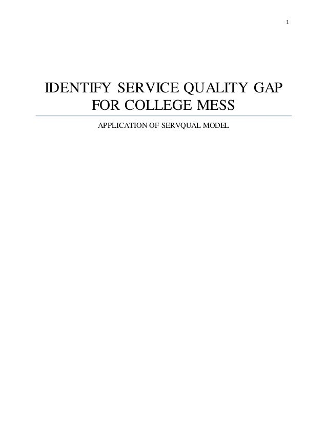 application of servqual model on measuring Despite the widespread use of the servqual model to measure service quality, several theoretical and empirical criticisms of the scale have been raised buttle (1996) summarised the major criticisms of servqual in two broad categories – theoretical and operational.