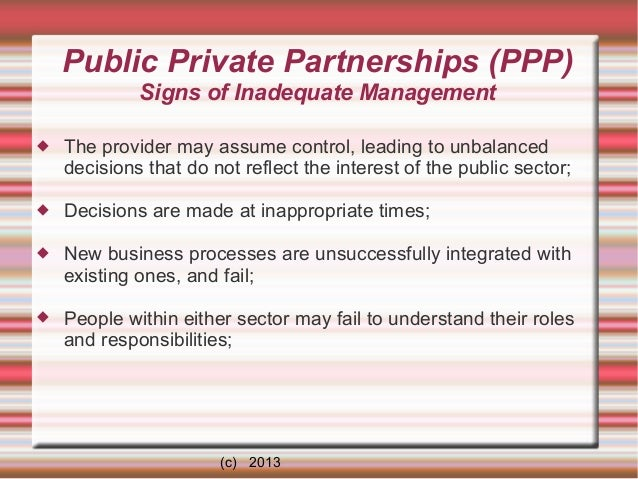 The Role Of Public-Private Partnerships In Africa