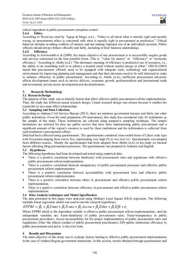 public procurement reform in ethiopia rh slideshare net