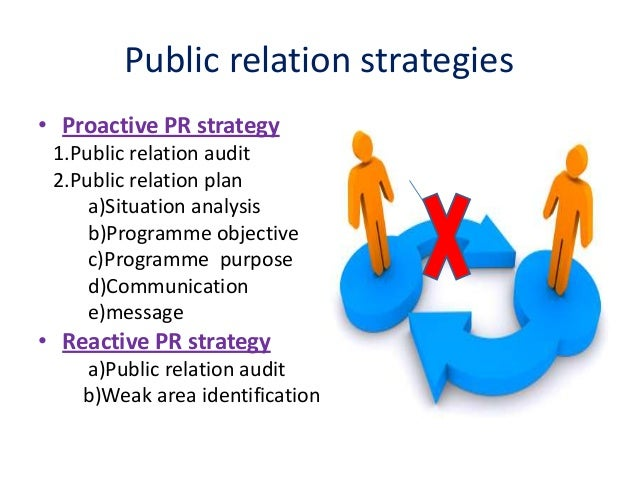 publicity and public relationship services