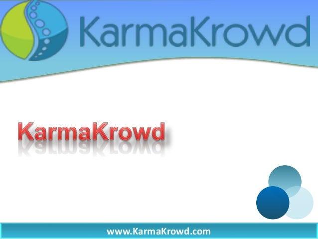 www.KarmaKrowd.com