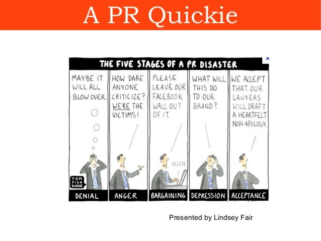A PR Quickie Presented by Lindsey Fair