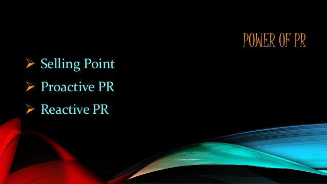 Proactive Communication