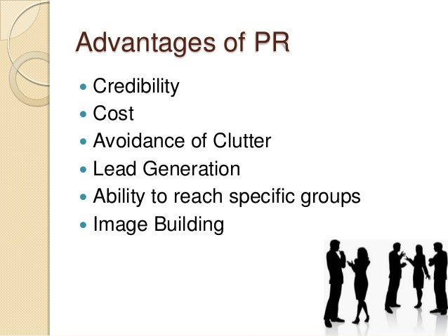 disadvantages public relations in society