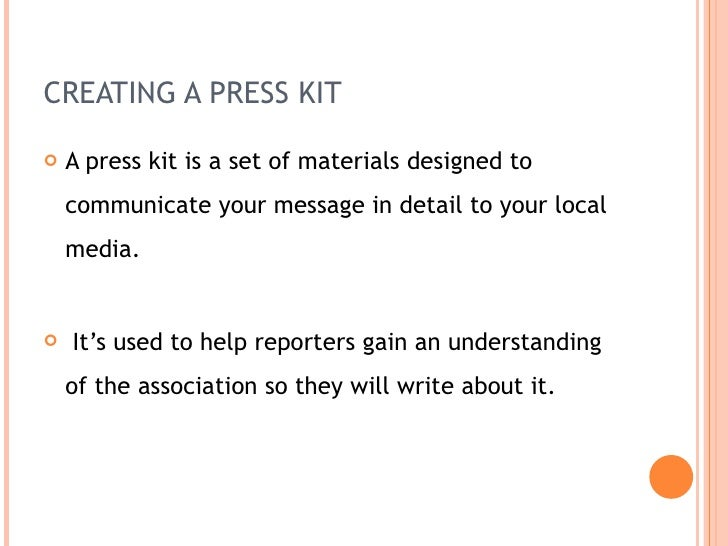 media relations cover letters