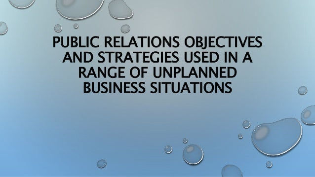 strategies and public relations of hilton Public relations in response to crisis 3363 words | 14 pages four-step process helps in the development of communication for the organisation to its publics.