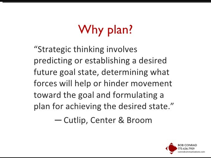 importance of planning public relations Public relations professionals do more than draft press releases and build relationships with key media representatives they must also be familiar with the attitudes and concerns of consumers, employees, public interest groups, and the community in order to establish and maintain cooperative.