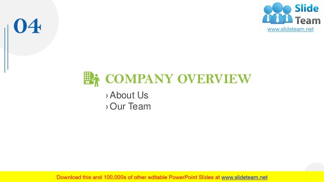 COMPANY OVERVIEW › About Us › Our Team 04 15