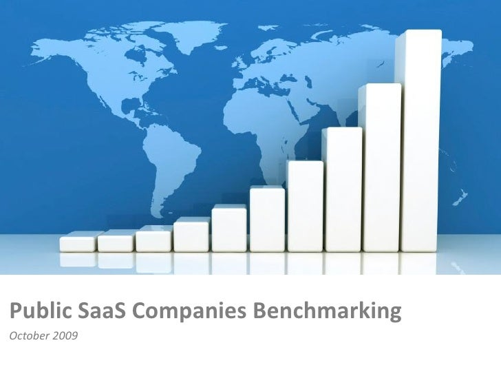 Public SaaS Companies Benchmarking October 2009