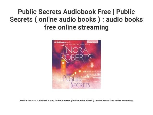 Public secrets audiobook free | public secrets ( audiobooks ): free ….