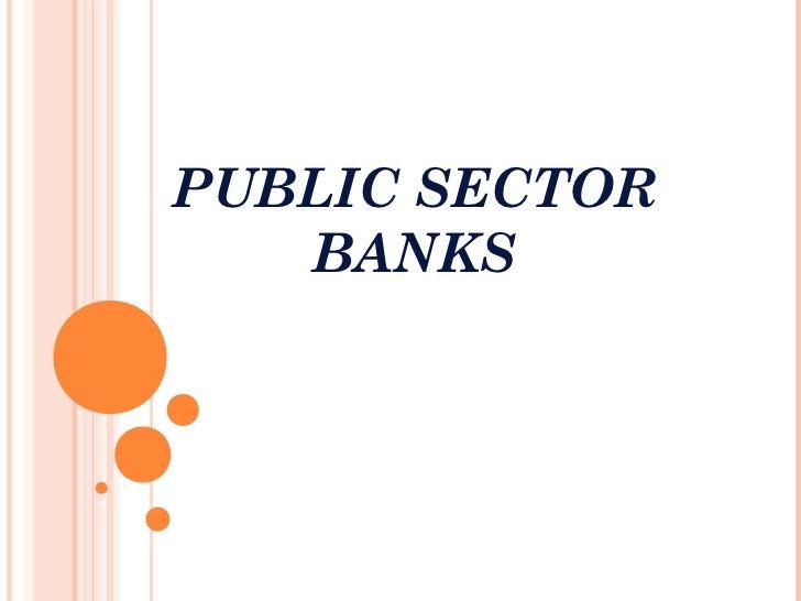 Technology Management Image: Public Sector Banks