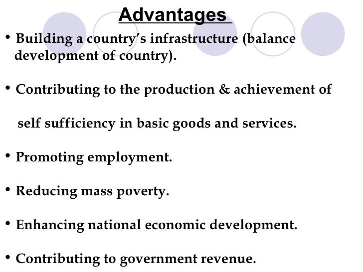 advantages and disadvantages of public sector undertakings Public sector undertakings in india 1 introduction characteristics advantages disadvantages categories role of psus disinvestment recommendations overview of the presentation.