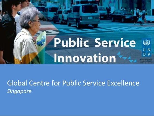 Global Centre for Public Service Excellence Singapore