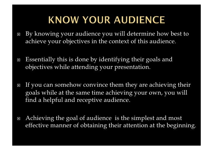 knowing your audience q a Join petrula vrontikis for an in-depth discussion in this video, knowing your audience, part of running a design business: presentation skills.