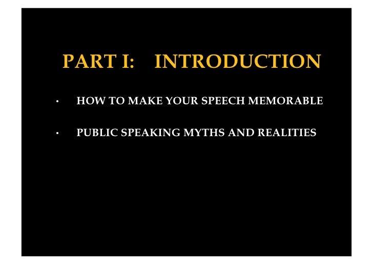 Public Speaking Slide 3