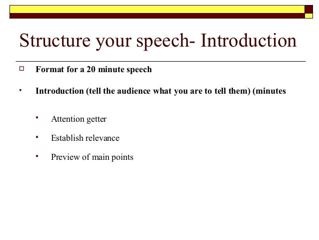 How To Begin A Public Speech – Your Introduction is Everything