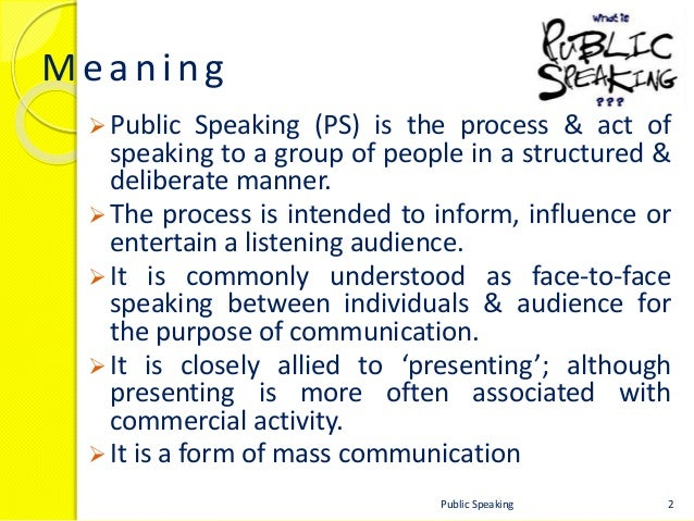 what is the meaning of public