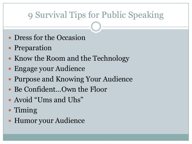 speech tips Public speaking is a skill that anyone can master with practice use these tips from the great orator, winston churchill.