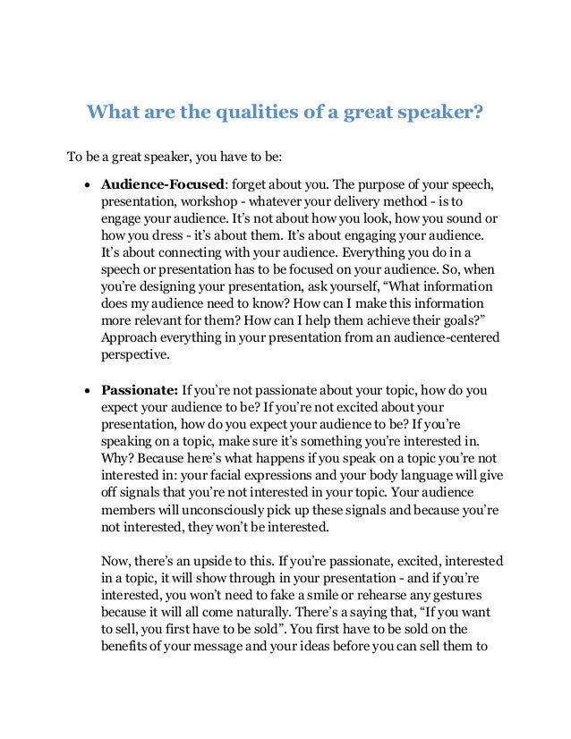 Public speaking champion techniques question and answers Slide 2