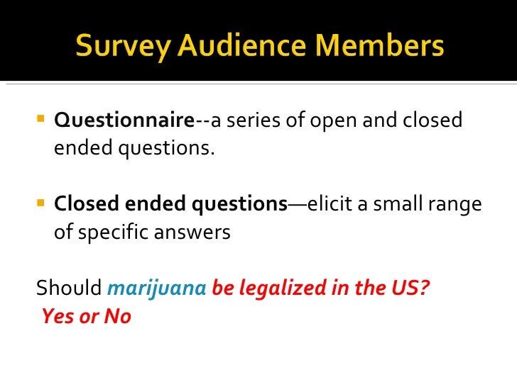 Legalization of marijuana thesis statement