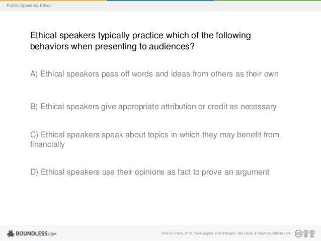 public speaking practice and ethics Public speakingpractice and ethics v 10 this is the book public speaking:  practice and ethics (v 10) this book is licen.