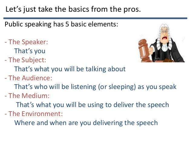 Public Speaking Tips from a Beginner