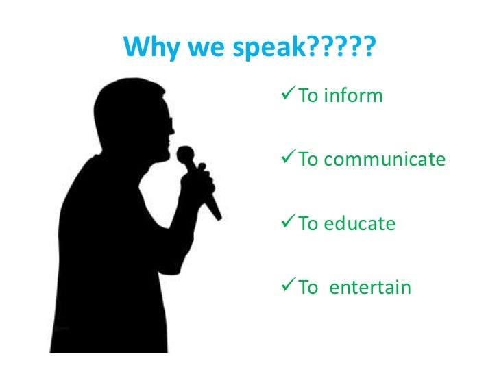 public speaking ppt
