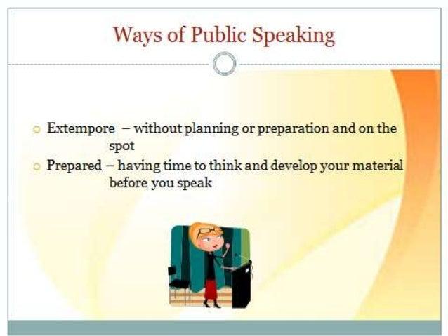 how to develop public speaking skills
