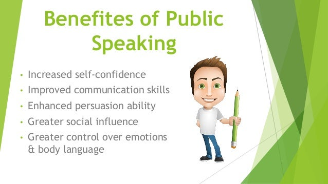 public speaking skills The average person ranks the fear of public speaking when someone asks me how he can build effective communication skills and improve his public speaking.