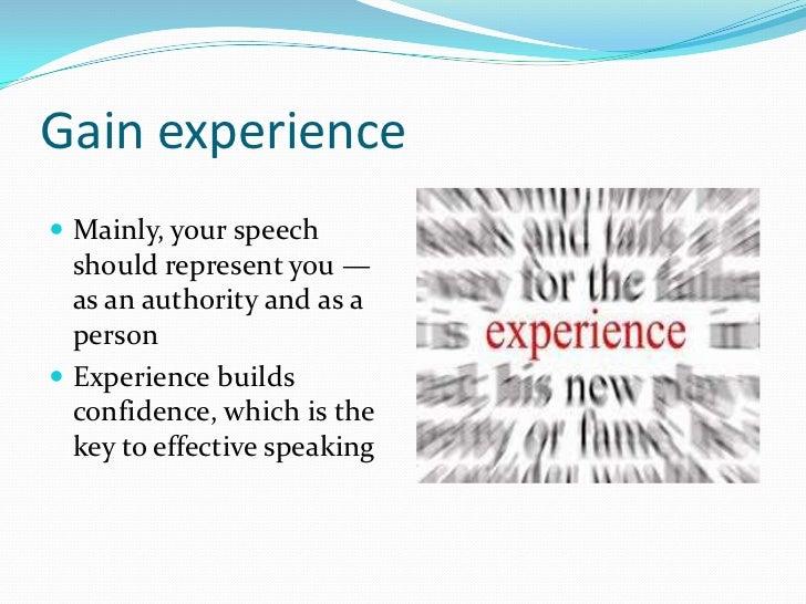 public speaking college essay