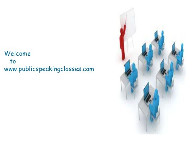 Welcome to www.publicspeakingclasses.com