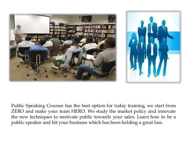Public Speaking Workshops - Public Speaking Classes Slide 2