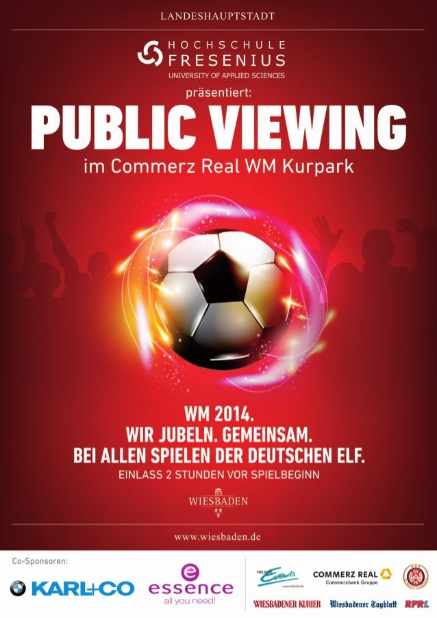 Public Viewing Kurpark Wiesbaden