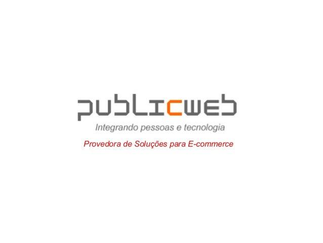 Provedora de Soluções para E-commerce
