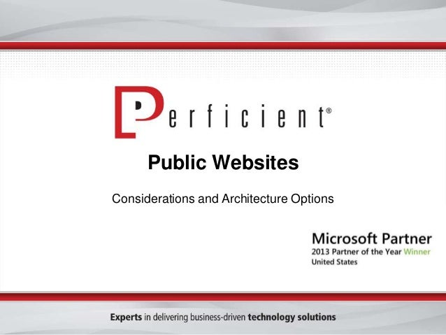 creating public facing websites with sharepoint 2013