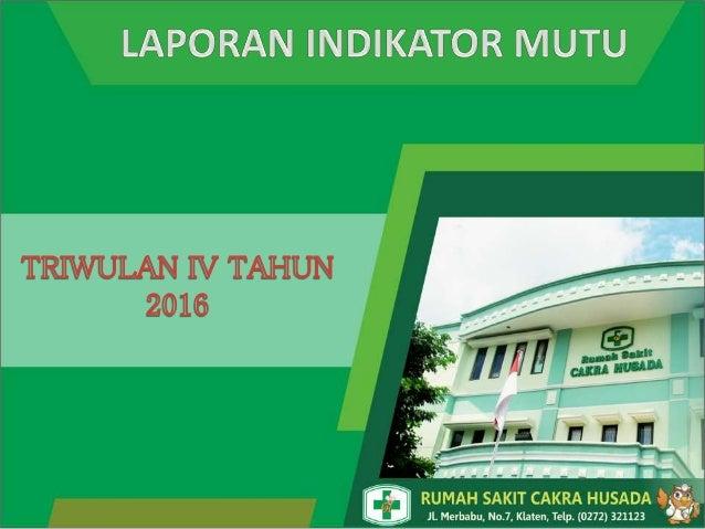 Rumah Sakit Cakra Husada Klaten merupakan Rumah Sakit Umum yang berawal dari klinik praktek dr. I Gusti Made Cakra, Sp.THT...